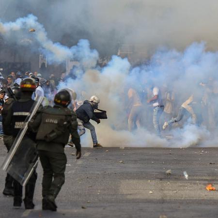 """Governo dos EUA alertou para """"detenção arbitrária de cidadãos americanos"""" - Yuri Cortez/AFP"""