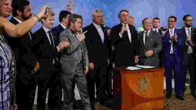 Bolsonaro editou decreto que flexibiliza a posse de armas, medida que pode ser revogado pelo Congresso - Carolina Antunes/PR