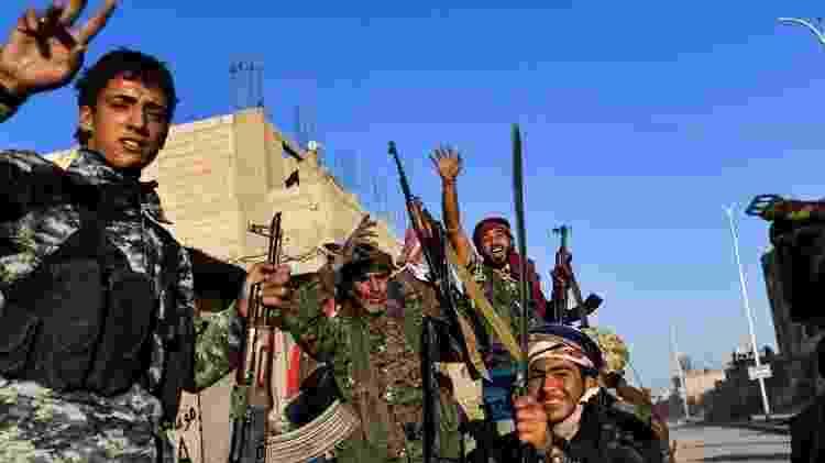 As FDS, formadas principalmente por combatentes curdos, foram fundamentais na derrota do Estado Islâmico - Getty Images