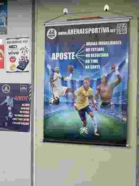 Cartaz com Neymar incentiva apostas em espécie de loteria clandestina em Salvador - UOL