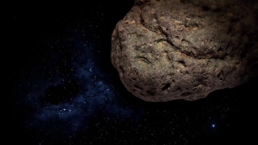 Imagem ilustrativa de um asteroide  - Frantisek Krejci/Pixabay