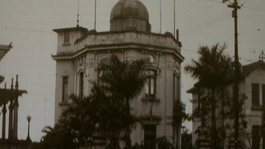 Antigo observatório da Paulista: desde que começaram as medições meteorológicas, não há registro de neve - Reprodução/IAG/ USP