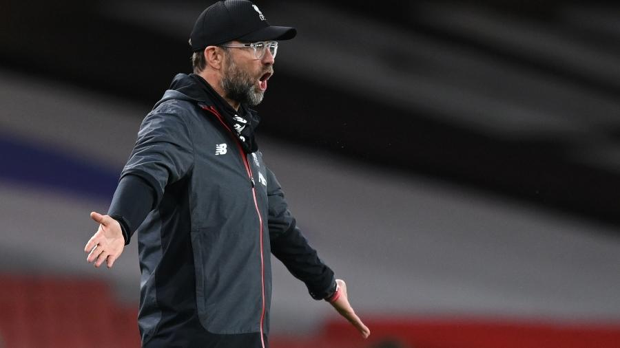 Técnico do Liverpool, Juergen Klopp - SHAUN BOTTERILL