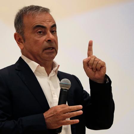 O ex-CEO da Renault-Nissan está refugiado no Líbano e país que não tem tratado de extradição com o Japão - ANWAR AMRO/AFP