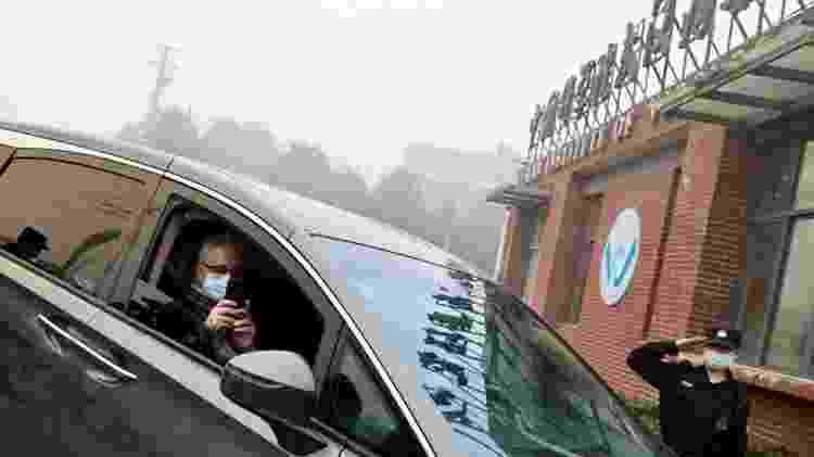 A missão da OMS também visitou o Instituto de Virologia de Wuhan como parte de sua pesquisa - Reuters - Reuters
