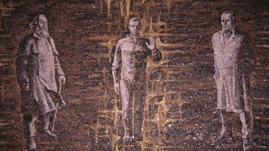 Nikolai Fyodorov se converteu em um ícone para os transhumanistas de todo o mundo e em uma guia espiritual para a exploração interplanetária - Getty Images
