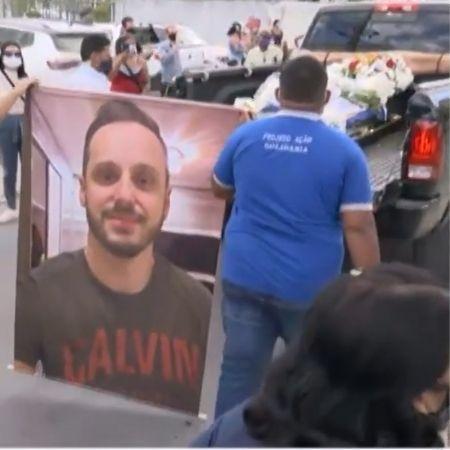 Andrade Santana (na foto) foi assassinado no final de maio; acusado é ex-colega de faculdade da vítima - Reprodução/TV Subaé
