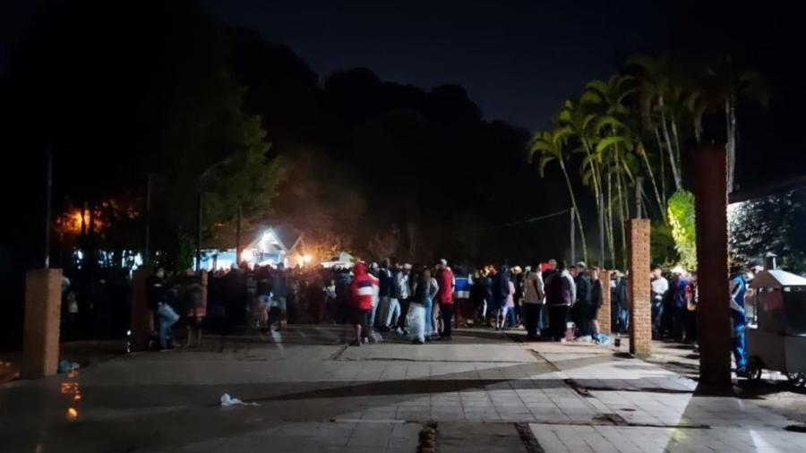 25.07.2021 -- Festa clandestina com cerca de 4 mil pessoas em Jundiaí (SP) - Prefeitura de Jundiaí