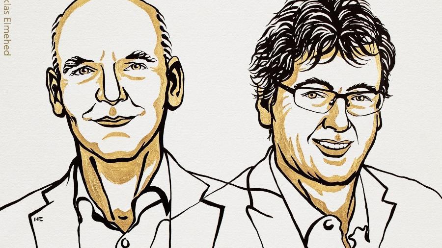 Benjamin List e David MacMillan venceram o Nobel de Química - Reprodução/Twitter
