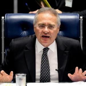 Renan é investigado por supostamente ter recebido propina para evitar a instalação da CPI da Petrobras - Alan Marques/ Folhapress