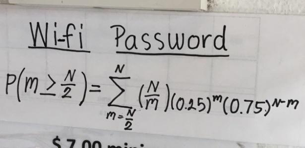 O Editor do UOL Tabloide é de humanas, mas e você, consegue resolver a equação? - Reprodução/Reddit/Joshua_Glock