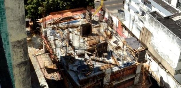 Obra do edifício La Vue, localizado na ladeira da Barra, área nobre de Salvador, foi embargada por ação judicial