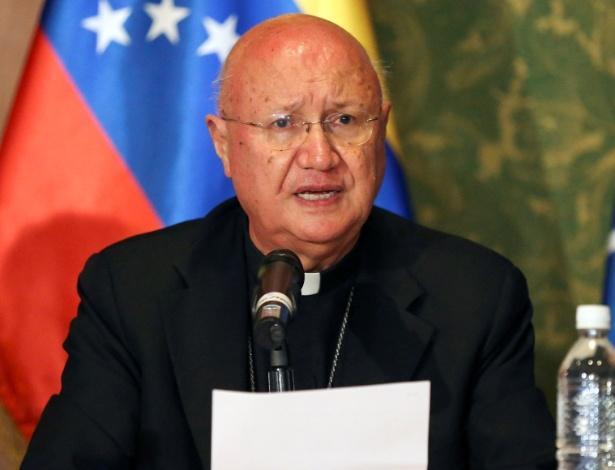 Claudio Maria Celli, enviado do Vaticano para acompanhar o diálogo político no país