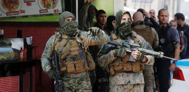 A operação deixou três mortos e ao menos quatro feridos