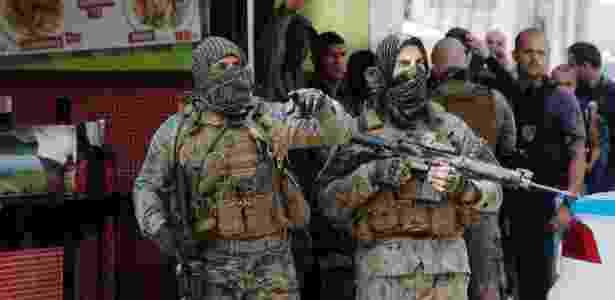 Em maio de 2017, operação do Bope (elite da polícia carioca) no Complexo do Alemão deixou ao menos três mortos e quatro feridos - Antônio Scorza/Agência O Globo