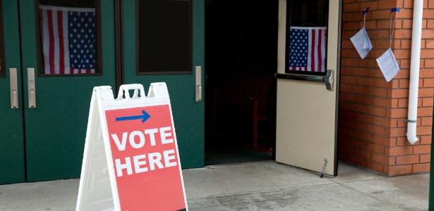 EUA, Estados Unidos, local de votação, eleições americanas, eleição americana, urna, voto