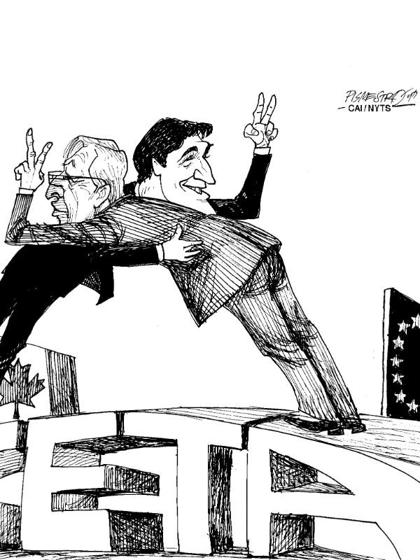 Fevereiro: Canadá E União Europeia Ratificam Acordo Comercial