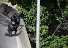 Tiroteio na Cidade de Deus leva pânico a motoristas na Linha Amarela - Gabriel de Paiva / Agência O Globo