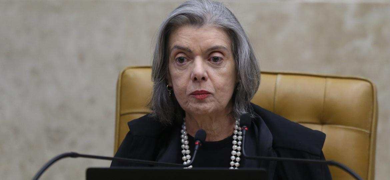 A segunda mulher a presidir o Supremo Tribunal Federal (STF), ministra Cármen Lúcia - Dida Sampaio/Estadão Conteúdo