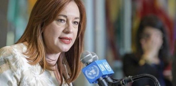 María Fernanda Espinosa foi chanceler do Equador e, por isso, tem experiência em lidar com a Venezuela - Manuel Elias/UN Photo