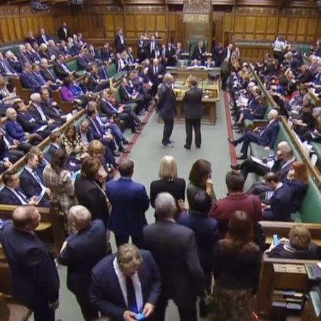 Parlamentares discutem extensão do prazo do Brexit na Câmara dos Comuns - UK PARLIAMENTARY RECORDING UNIT/DIVULGAÇÃO