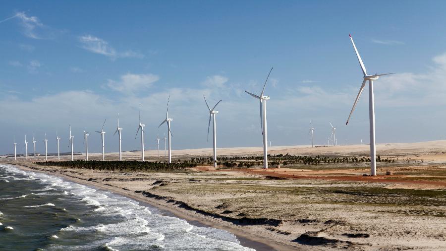 Petrobras detém 51% de participação no parque eólico Mangue Seco 2, no Rio Grande do Norte - ABEEólica/Divulgação