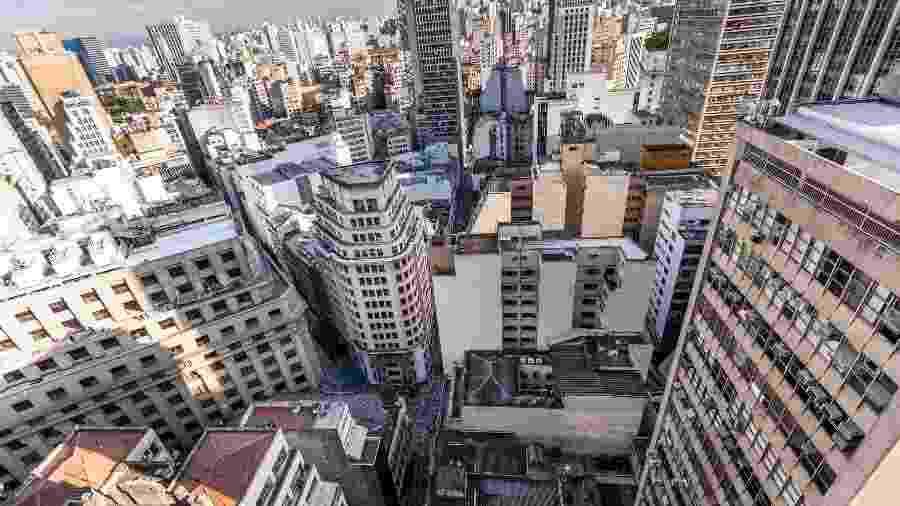 Predios e terrenos no centro de São Paulo - Simon Plestenjak/UOL