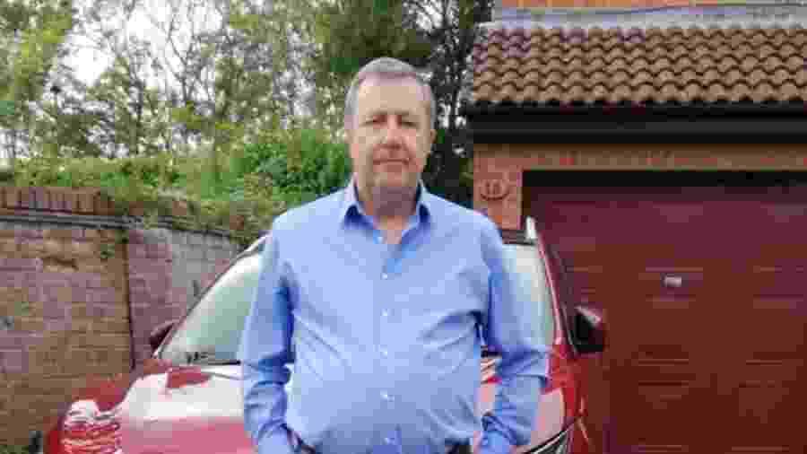 Richard Keedwell gastou todo o dinheiro da família em uma batalha jurídica perdida - Arquivo Pessoal