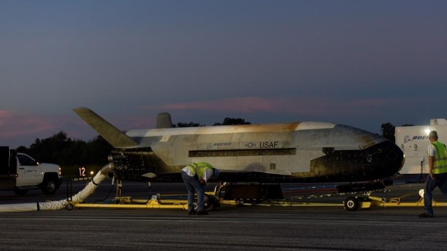 X-37B, avião da Força Aérea dos Estados Unidos - Divulgação/USAF