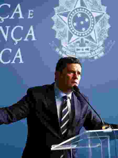 O ministro da Justiça e Segurança Pública, Sergio Moro - Marcelo Camargo/Agência Brasil Brasilia-DF