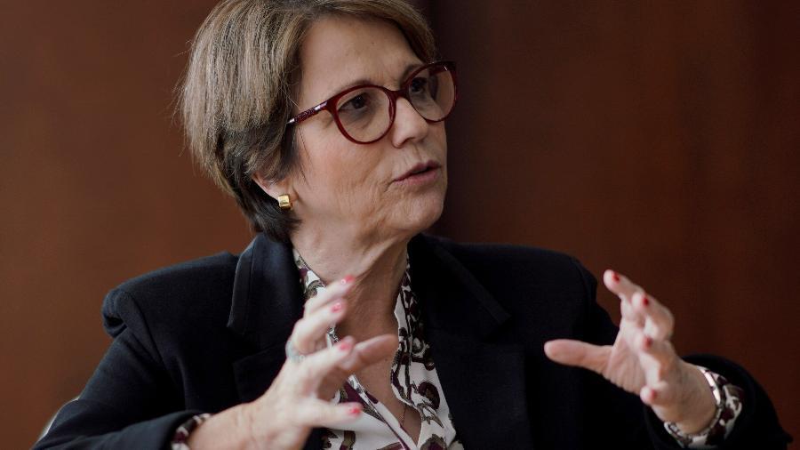 Ministra da Agricultura, Tereza Cristina - UESLEI MARCELINO