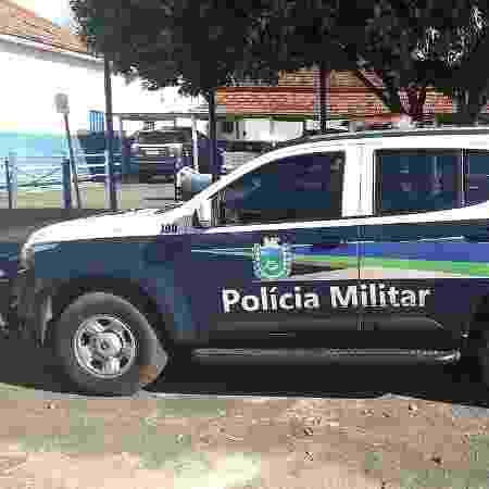 Carro da PM em Paranaíba (MS) - Divulgação