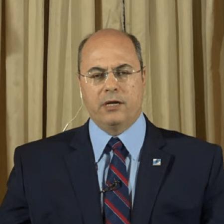 O governador do Rio de Janeiro, Wilson Witzel (PSC) - Reprodução/TV Cultura