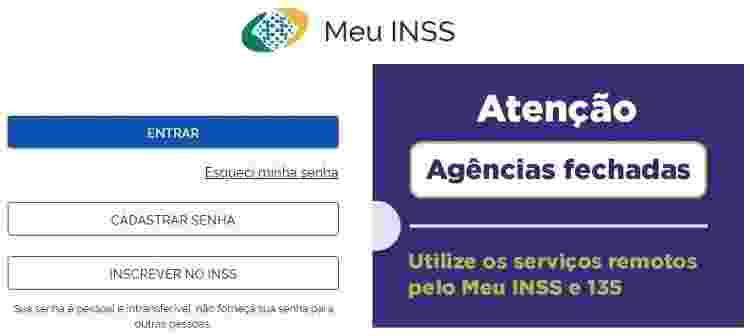 Meu INSS 1 - Reprodução - Reprodução