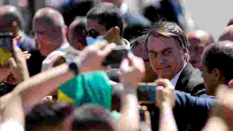 Presidente Jair Bolsonaro em atos do Dia da Independência (7 de setembro) em Brasília - ADRIANO MACHADO/REUTERS - ADRIANO MACHADO/REUTERS