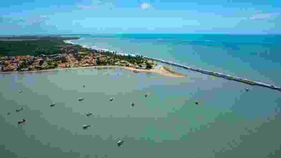 Praia do Pontal de Coruripe, em Alagoas; racha em família movimenta eleição na cidade - Divulgação/Prefeitura de Coruripe