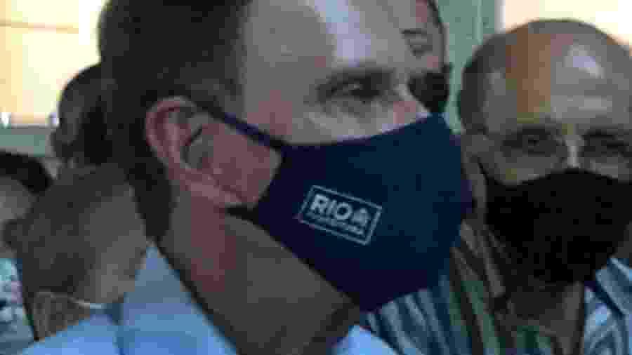 O prefeito do Rio, Marcelo Crivella (Republicanos); prefeitua negou que vá deixar déficit para a próxima administração municipal - Herculano Barreto Filho/UOL