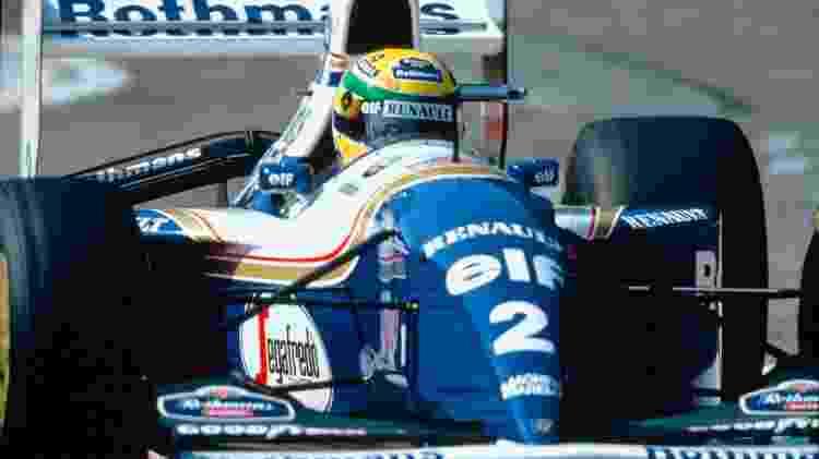 Renault F1 Senna San Marino  - Divulgação  - Divulgação