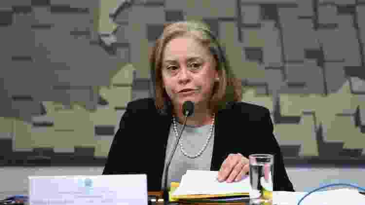 A diplomata Vera Lucia dos Santos Caminha Campetti - Edilson Rodrigues/Agência Senado - Edilson Rodrigues/Agência Senado