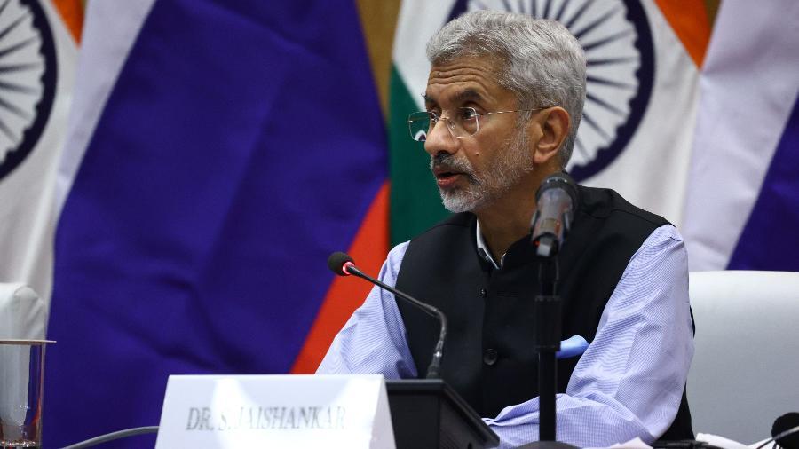 Chanceler indiano, Subrahmanyam Jaishankar - Russian Foreign Ministry/Reuteris