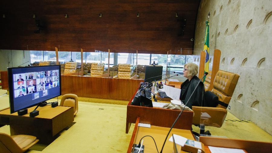 Maioria do plenário acompanhou decisão de Weber contra a convocação dos governadores à CPI - Fellipe Sampaio /SCO/STF