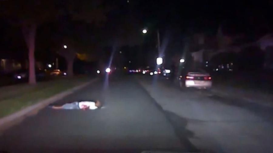 Após ser baleado, Eric Cole acionou a polícia em Ohio (EUA), mas foi atropelado pela viatura que vinha resgatá-lo - Departamento de Polícia de Springfield