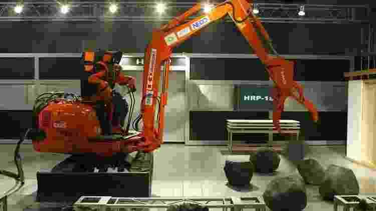 Os robôs podem se tornar comuns na indústria de construção - Getty Images - Getty Images