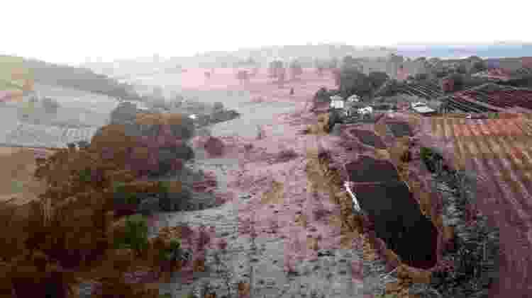 Geadas no estado de Minas Gerais, Brasil, danificaram mais de 150.000 hectares de lavouras, em julho de 2021 - Getty Images - Getty Images