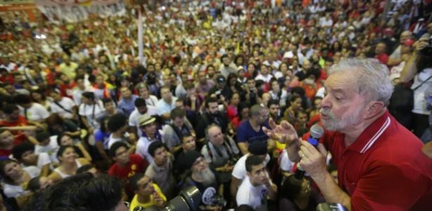 PT prepara mobilizações da militância para defender Lula - Nilton Fukuda/Estadão Conteúdo