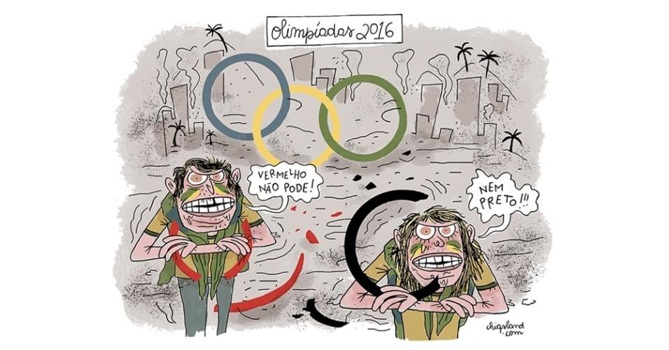 29.mar.2016 - Olimpíadas 2016: Será que até lá a crise política vai continuar enlouquecendo todo mundo?
