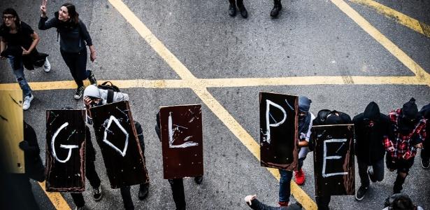 Protesto contra Temer em São Paulo seguirá até escritório da Presidência - Junior Lago/UOL