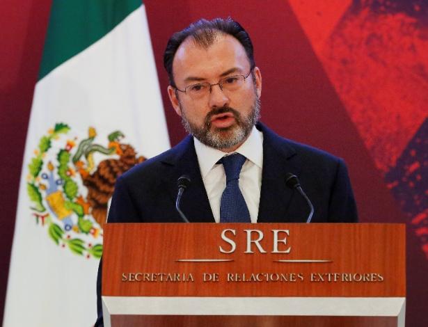 Chanceler mexicano confirmou reunião entre Peña Nieto e Trump no dia 31