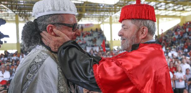 Defesa de Lula protocola defesa prévia em ação penal no caso do sítio de Atibaia (SP) - Ricardo Stuckert/Divulgação