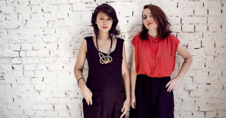 Achadinhos sócias Cinthia Yamazaki e Aline Vilhena